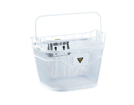 Košík predný Topeak BASKET FRONT (Fixer 3e) biely