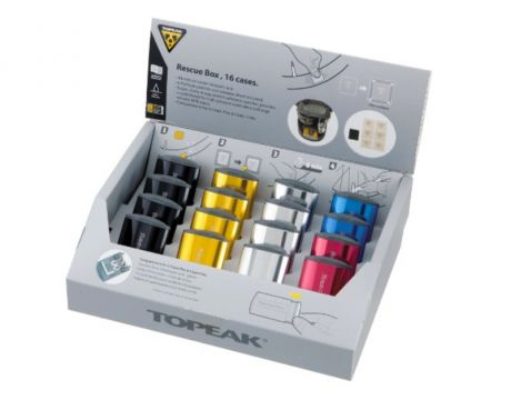 Lep.sada Topeak RESCUE BOX - 16 sád