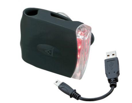 Svetlo zadné Topeak RED LITE DX USB čierne