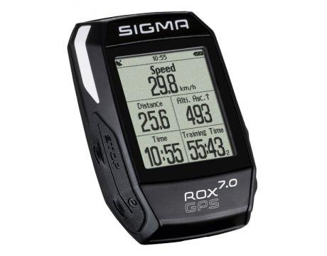 Cyklopočítač Sigma ROX 7.0 GPS black