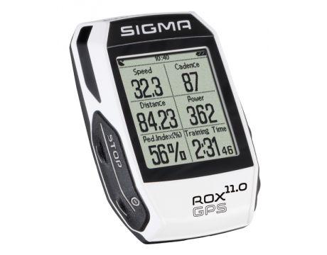 Cyklopočítač Sigma ROX 11.0 GPS White
