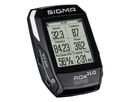 Cyklopočítač Sigma ROX 11.0 GPS Black Set