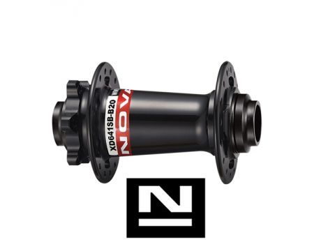 Náboj Novatec XD641SB-B15 (boost), predný, 32-dierový, čierny (N-logo)