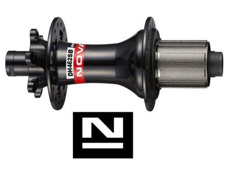 Náboj Novatec DH462SB-SL, zadný, 32-dierový, čierny (N-logo)