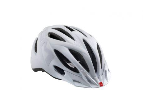 Prilba MET 20 miles Matt white texture L 59-62cm
