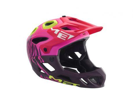 Prilba MET Parachute HES Matt pink texture L 59-62 cm