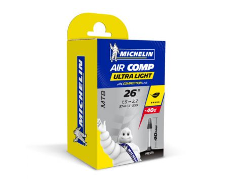 Duša Michelin Aircomp Ultralight 26 x 1,50-2,20 FV40