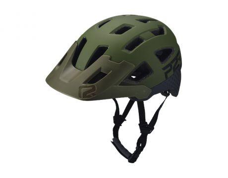 Prilba P2R FORTEX M / L, Matte Army Green / Charcoal