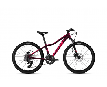 "Ghost Lanao 24"" Essential - Blackberry / Electric Pink  2021"
