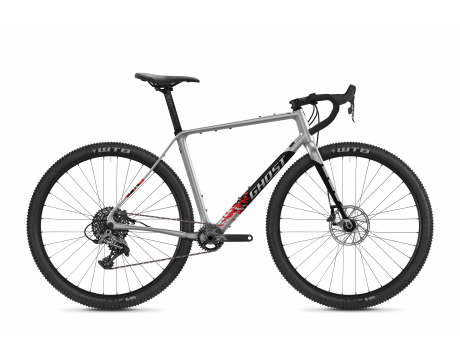 Road Rage Fire Advanced LC - Iridium Silver / Jet Black / Red