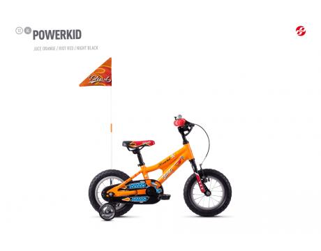 Powerkid 12 - Orange / Red
