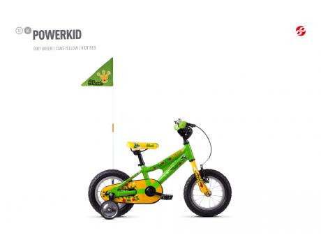 Powerkid 12 - Green / Yellow
