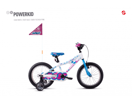 Powerkid 16 - White / Blue