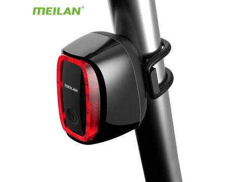 Cyklistické svietidlo Meilan X6 Brake, zadné