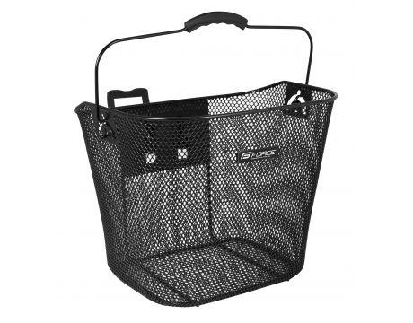 Košík predný na riadidlá KLICK, čierny UNI