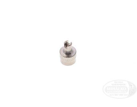 Čiapočka na ventil AV kovová s kľúčom