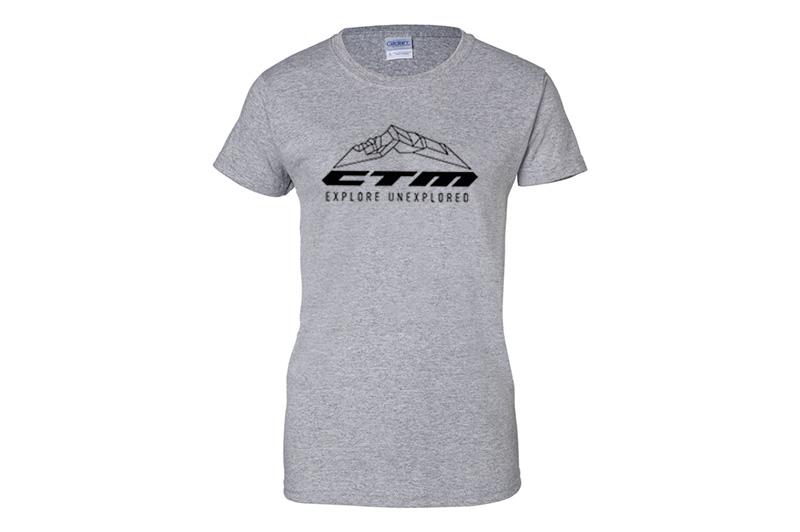 f2c1dd619 CTM Tričko CTM, dámske, šedé, XL | mihalko.eu
