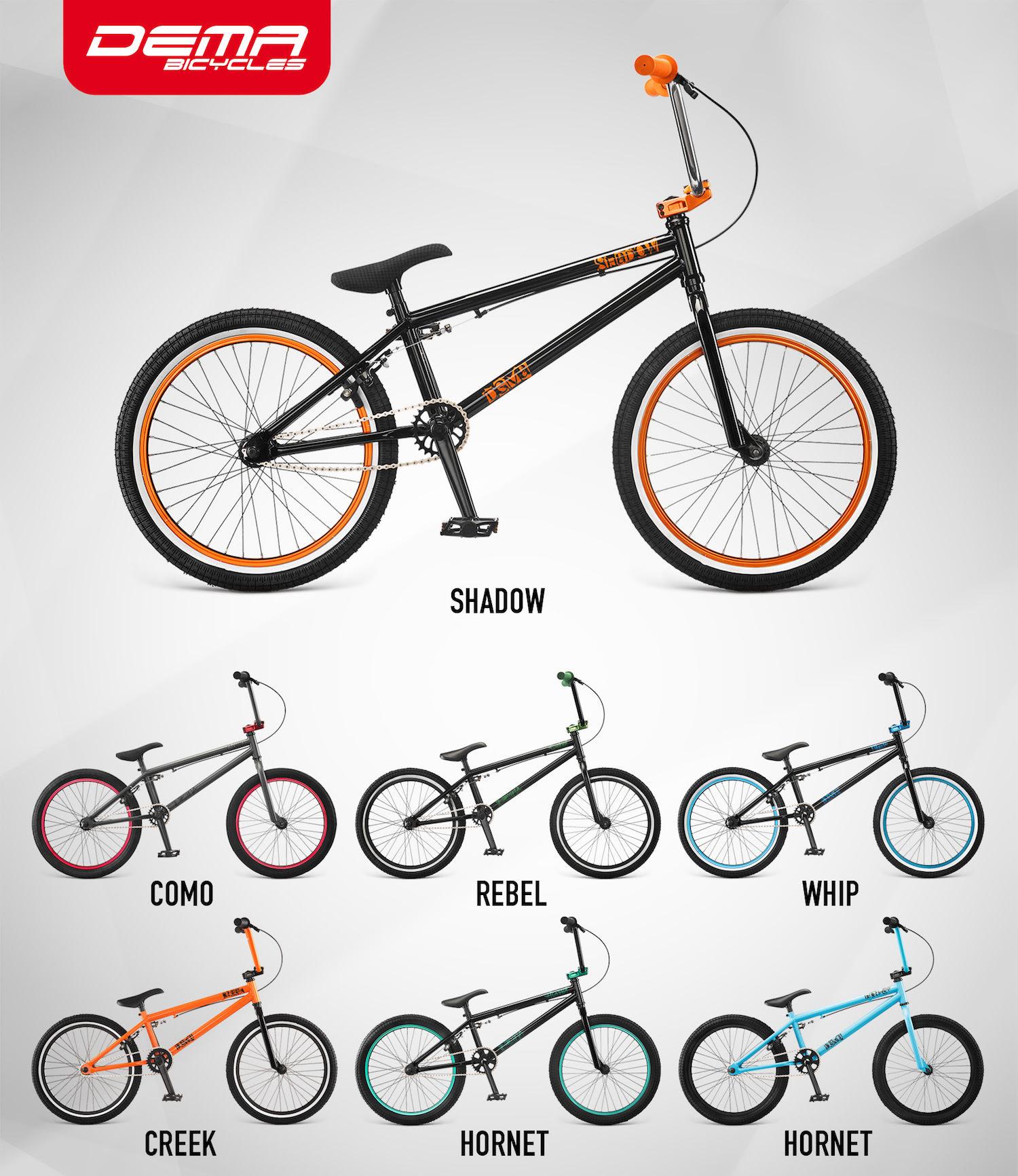 Dema 2016 bicykle BMX